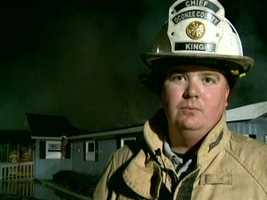 Oconee County Fire Department Chief Charlie King