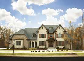 This is the 2012 Inspiration Home, which is available for tours this weekend.