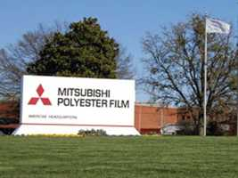 700 people are employed by Mitsubishi Polyester Film.