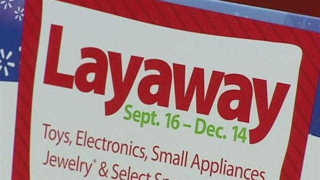 Walmart layaway surprise