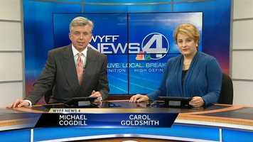 Carol anchors the 6 p.m. and 11 p.m. newscasts with Michael Cogdill.