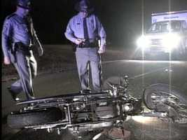 Motorcycle accident cause 2.6 percent of fatal injuries.