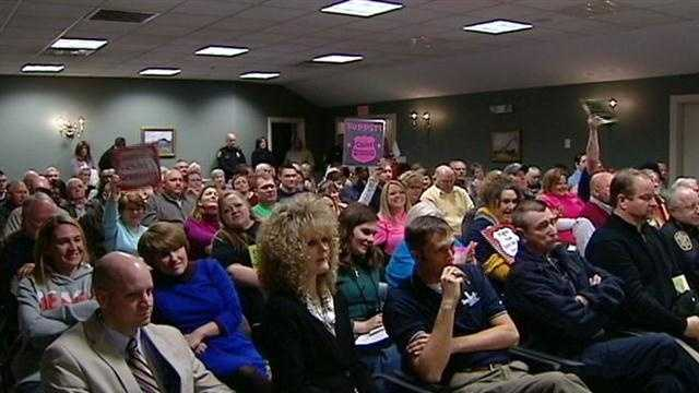 Supporters lash out at council in defense of fired police chief
