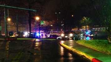 Pictures from the scene of the officer-involved shooting. FULL STORY