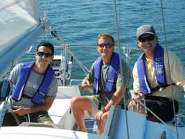 He's an ASA-certified sailor who adores just about any boat on the planet.
