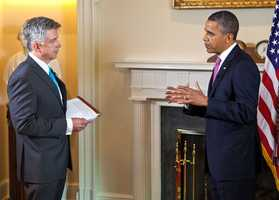 He interviewed President Obama on his 51st birthday