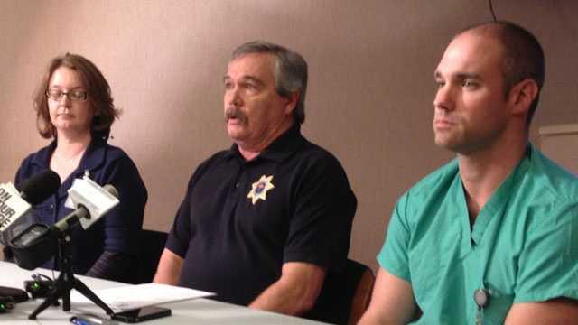 coroner news conference