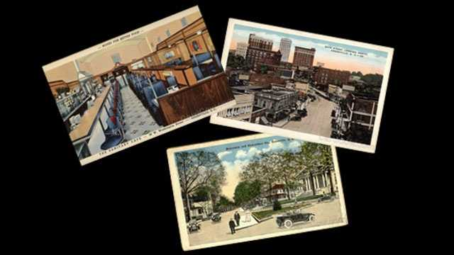 Postcards from Greenville's past