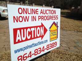 Poinsett Auction and Realty, Inc. is handling the auction. The auction is set to run Sunday, March 10 at 9 a.m. until Sunday, March 17 at 9 p.m. The home is open for preview on Sunday, March 10 from 2 -4 p.m. To bid go to PoinsettAuctions.com.