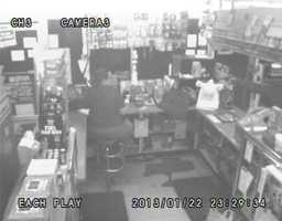 Deputies said the clerk was not hurt.