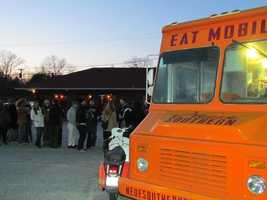 Hundreds of people flocked to a pro-food truck rally at The Owl restaurant on Wade Hampton Boulevard. Serving shoulder to shoulder with Asada, Neue Southern and Chocolate Moose, Aaron Manter said The Owl's business was still double a normal Wednesday night. Check out the crowd... See anybody you know?
