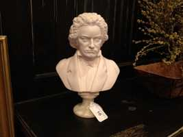 This alabaster and marble bust sold for $220.