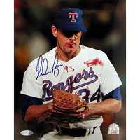 Brad grew up a fan of the Texas Rangers. His best baseball fan memory as a kid was being at Nolan Ryan's 5,000th Strikeout game. And then a few years ago, Brad was asked to MC an event for Ryan in West Texas.