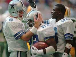 Brad also grew up watching the Cowboys and then had the chance to cover Troy Aikman, Michael Irvin and Emmitt Smith's induction into the Dallas Cowboys Ring Of Honor.