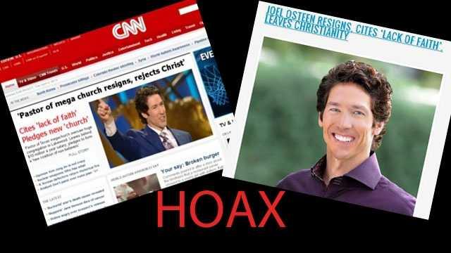 Osteen Hoax
