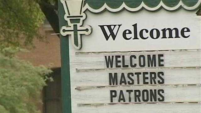 Masters business sign