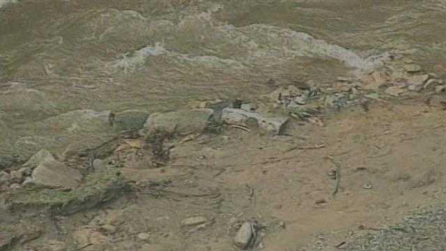 mudslide death