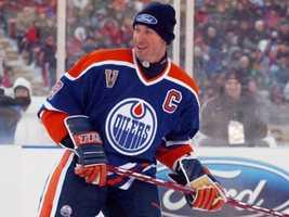 Wayne Gretzky, NHL Hall of Fame member