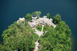 The estate is known as The Pointe on Lake Burton.