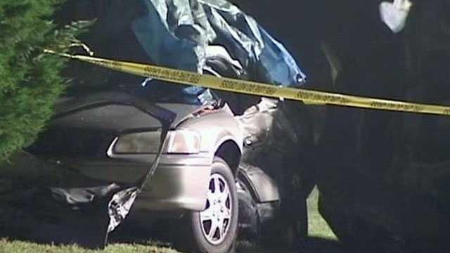 Simpsonville Sunday night crash