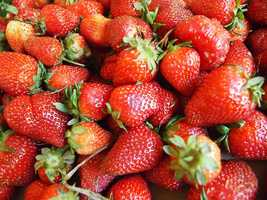 In a study, more than half of 9-year-olds picked strawberries as their favorite fruit.
