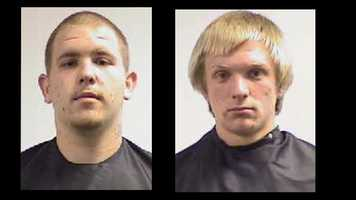 Joshua Thomas, Brandon Stoudenmire: theft-related charges