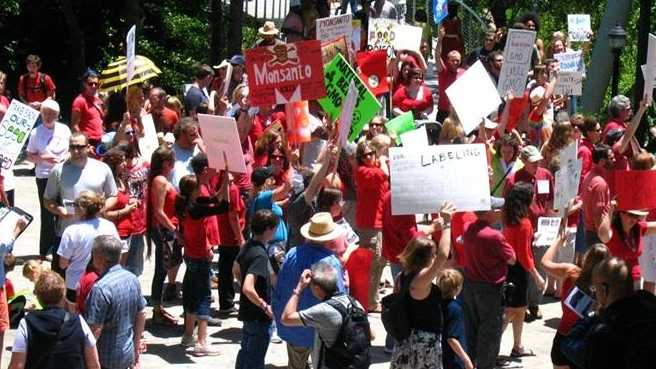 Greenville Monsanto  crowd