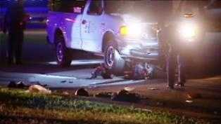 One injured after pick-up truck and moped wreck