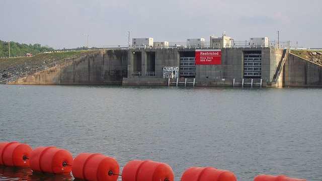 Buford Dam, Lake Lanier