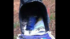 bomb in mailbox