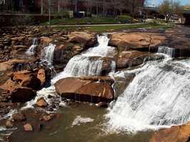 9. Falls Park, Greenville