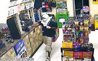 The store was robbed on Friday at 10:30 p.m, deputies said.
