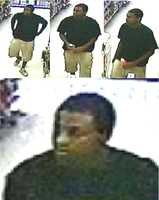 Greenville County deputies have released these pictures of a person of interest in the robbery at the Mahi Food Mart at 2400 Anderson Road.