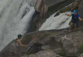 A Greenville woman has died after her kayak overturned on the Potomac River near Great Falls, according to a Montgomery County official. All photos courtesy of nbcwashington.com.