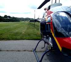 News 4 sports reporter Marc Dopher has been helping us out this month and has been our Sky 4 videographer. He took some awesome shots along the way and is sharing them with all of you.
