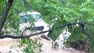 cars stranded