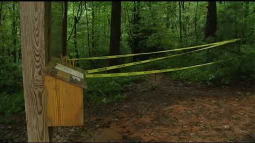 State park trails closed