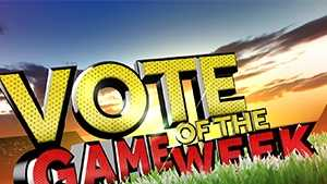 GAME OF THE WEEK VOTE LOGO