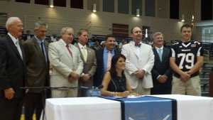 Haley concussion bill signing
