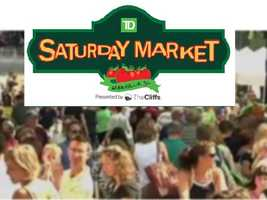 Saturday Market, downtown Greenville, 8 – noon
