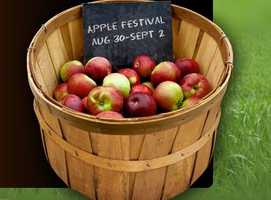 NC Apple Festival, Hendersonville, N.C., Friday thru Monday, 10 a.m.-10 p.m.