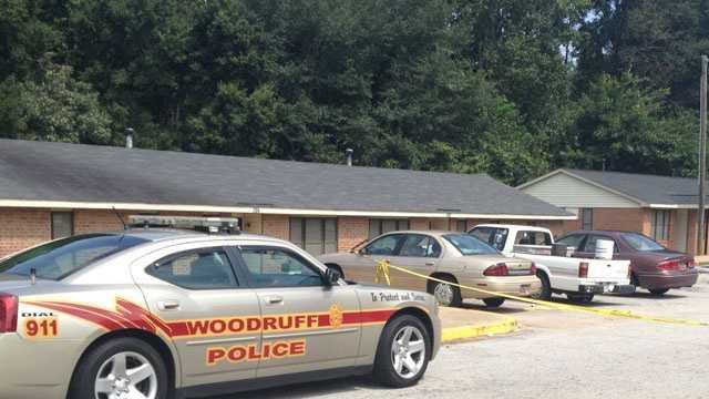 double shooting in Woodruff