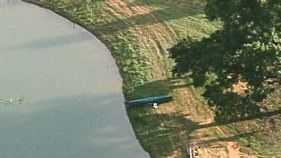 Capsized Canoe