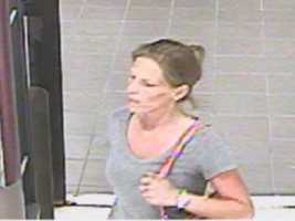 If you recognize this woman, you are asked to call 888-CRIMESC.