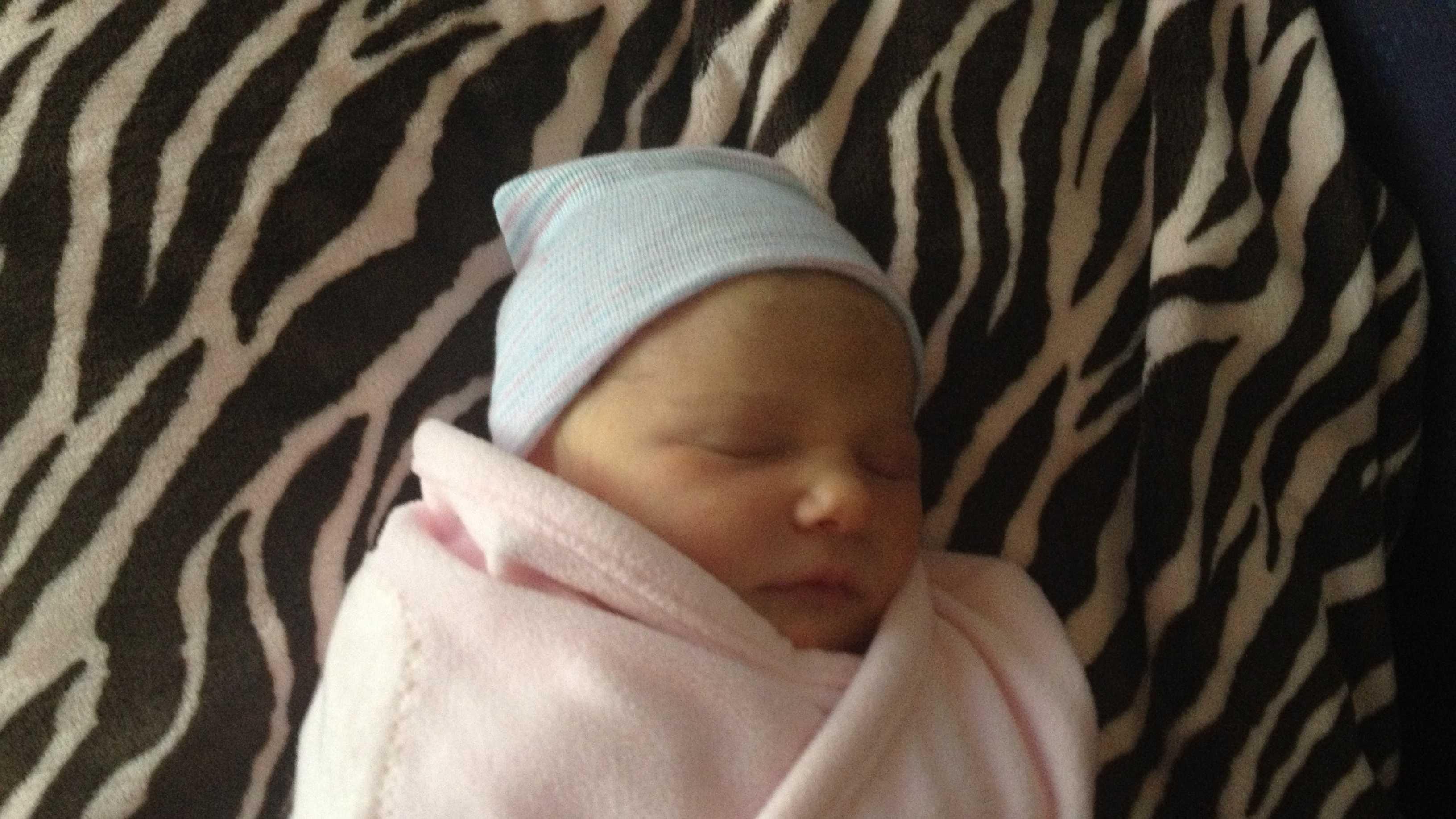 Angela Rodriguez welcomes baby girl, Sloan