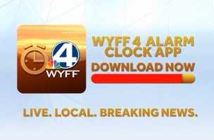 Make sure to download the WYFF News 4 Alarm Clock app today. App Store: http://on.wyff4.com/1a4Mw7o Google Play: http://on.wyff4.com/1ac25QH