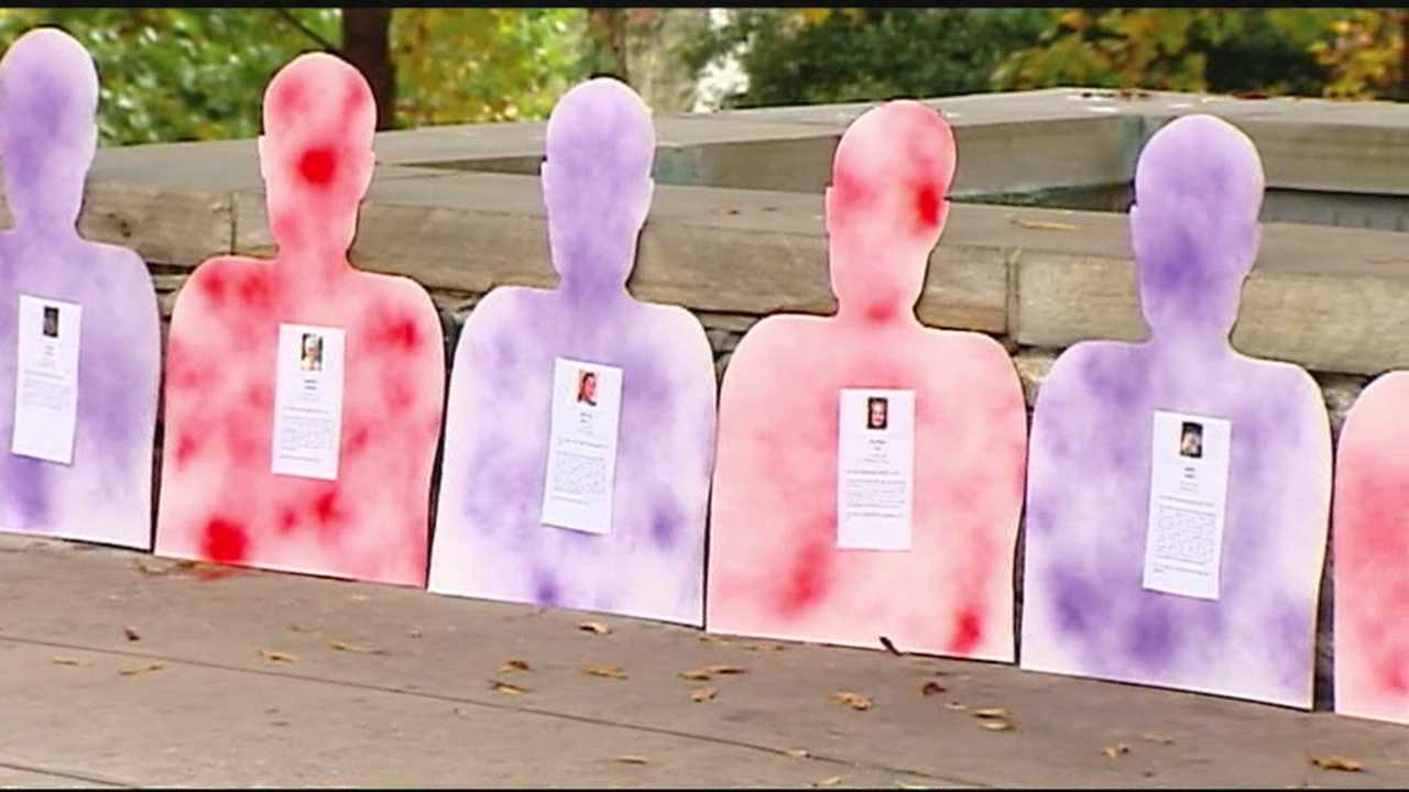 Domestic violence vicims remembered