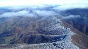 light snow on mtns generic