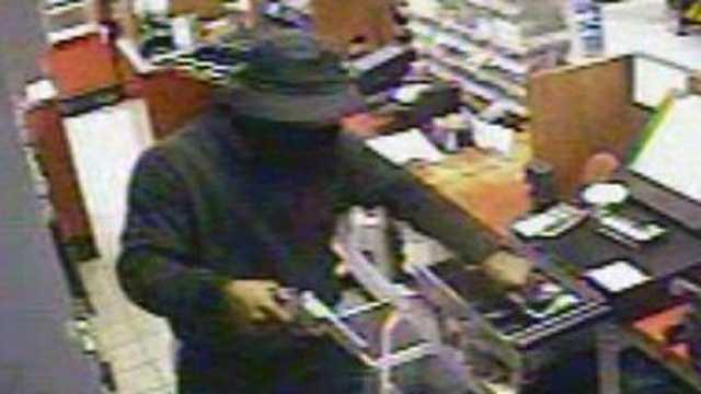 Robbery surveillance photo