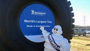 Michelin giant tire